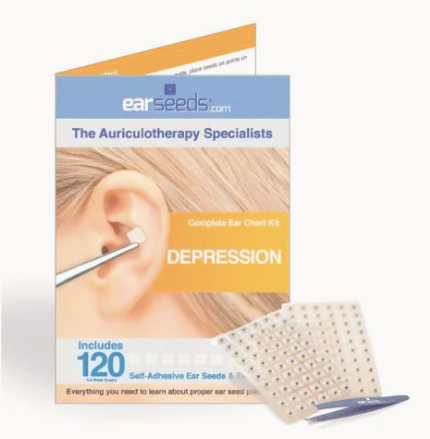 Acupuncture at Home: Depression Ear Seed Kit