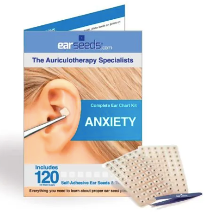 Acupuncture at Home: Anxiety Ear Seed Kit