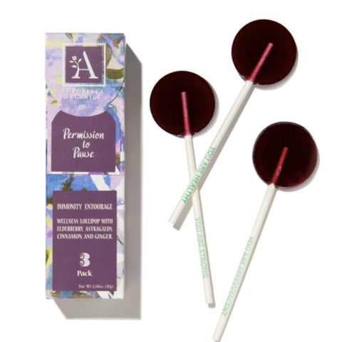 Herbal Wellness Lollipop - Permission to Pause