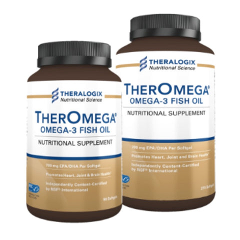 TherOmega Omega 3 Fish Oil - 90 Count