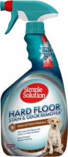 Bramton Company Simple Solution Stain & Odor Remover Hardwood Floors 32 oz. Spray