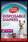 Bramton Company Simple Solution Disposable Diapers Small 12pk