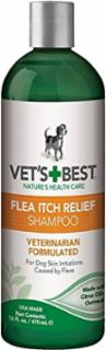 Bramton Vet's Best Flea Itch Relief Shampoo 16oz