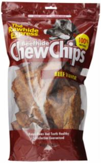 Rawhide Express Beef Rawhide Chips 1 lb.