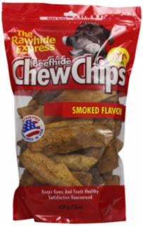 Rawhide Express Hickory Thick Rawhide Chips, 1 lb.