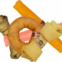 Rawhide Express 3 lb. Assorted Flavors Value Pack Of Rawhide