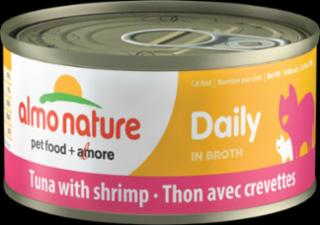 Almo Daily Cat Tuna With Shrimp 24/2.47 Oz.