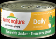 Almo Daily Cat Tuna With Chicken 24/2.47 Oz.