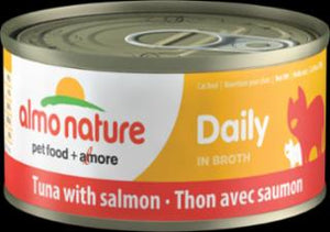 Almo Daily Cat Tuna With Salmon 24/2.47 Oz.
