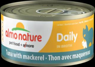 Almo Daily Cat Tuna With Mackerel 24/2.47 Oz.
