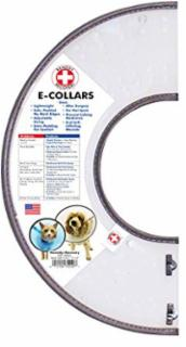 Cardinal Pet Remedy+Recovery E-Collar, Small - Asstd. Colors