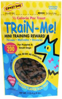 Cardinal Pet Crazy Dog Train Me Chicken 4Oz