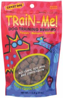 Cardinal Pet Crazy Dog Train Me Bacon 4Oz