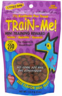 Cardinal Pet Train-Me!  Mini Training Rewards Beef 4oz