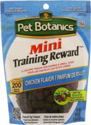Cardinal Pet Botanics Training Rewards Mini Treats - Chicken 4oz