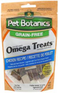 Cardinal Pet Botanics Healthy Omega Treats - Chicken 5oz