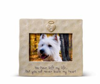 AMSCAN  Stone Pet Memorial Picture Frame 7.5