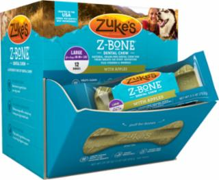 Zuke's Z-Bones Clean Apple Crisp Large 12ct *REPL 134272