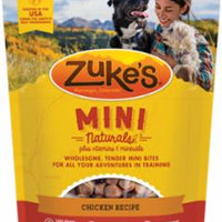 Zuke's Mini Naturals Chicken Recipe 6oz *REPL 134274