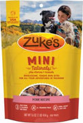 Zuke's Mini Naturals Pork Recipe 16oz *REPL 134283