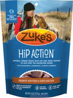 Zuke's Hip Action Peanut Butter & Oats Recipe 6oz *REPL 134287
