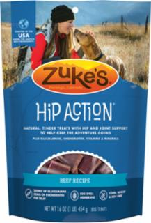 Zuke's Hip Action Beef Recipe 16oz  *REPL 134292
