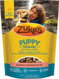 Zuke's Puppy Naturals Salmon & Chickpea Recipe 5oz *REPL 134309