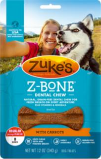 Zuke's Z-Bone Regular With Carrots 12oz *REPL 134326