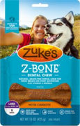 Zuke's Z-Bone Large With Carrots 15oz *REPL 134328