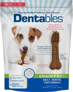 Dentables Grain Free Dental Chews Small 16 pk