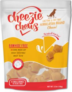 "Cheezie Chews Cheese Knots 3-4""         Small 6 pk"