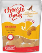 "Cheezie Chews Cheese Knots 5-6""         Large 4 pk"