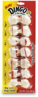 Dingo Knotted Mini 7 Pack White 2.5
