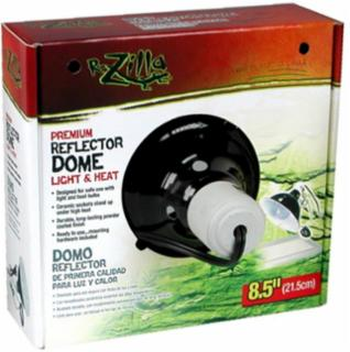 Zilla Dome Reflector Black Ceramic 8.5