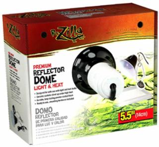 Zilla Dome Reflector Black Ceramic 5.5