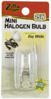 Zilla Halogen Lamp Mini White 25 Watts