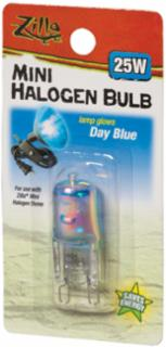 Zilla Halogen Lamp Mini Blue 25 Watts