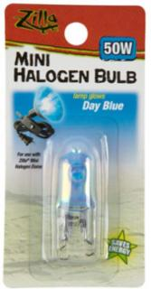 Zilla Halogen Lamp Mini Blue 50 Watts
