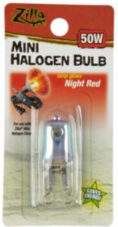 Zilla Halogen Lamp Mini Red 50 Watts