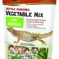 Zilla Reptile Munchies Veggie Calcium Food 4z