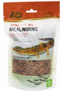 Zilla Reptile Munch Mealworm Food 3.75z