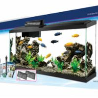 Aqueon Aquarium Kit LED Black 55 Gallon