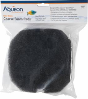Aqueon Filter Foam Small Black 24/2pk