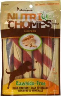 Scott Pet 4ct Chicken Twist with Flavor Wrap