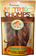 "Scott Pet 4ct 6"" Chicken Flavor Braid"