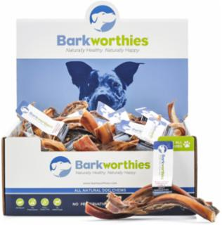 Barkworthies Bully Stick Curly 7-9