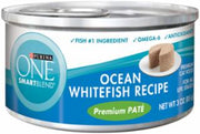Purina One Smartblend Braised Cuts In Gravy Ocean Whitefish 24/3Oz