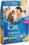 Purina Cat Chow Complete Dry Cat Food 15# *REPL 178007