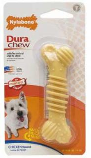 Nylabone Dura Chew Plus Chicken Bone Regular
