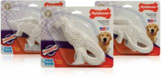 Nylabone Durable Dental Dinosaur - 3 Dino Shapes